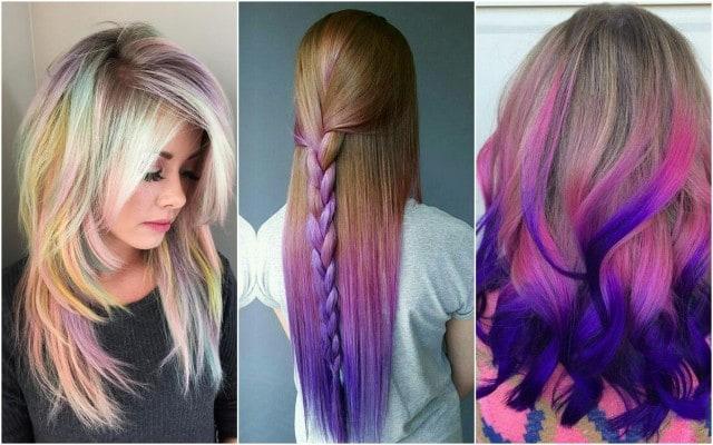Фотография девушек с окрашенными волосами