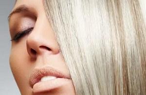 Волосы осветленные перекисью водорода