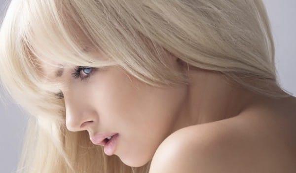 Фотография осветленных волос