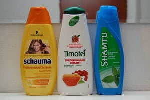 Виды шампуней