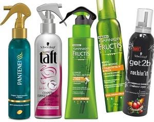 Термозащита для волос - спрей