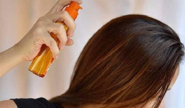 Фотография волос и средства для термозащиты
